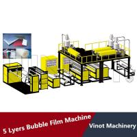 Wholesale 5 Layers Bubble Wrap Making Machine 38CRMOLA Screw Material , Polyethylene Bubble Film from china suppliers