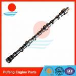 China excavator motor spare parts Mitsubishi 6D34 camshaft ME081737 for KOBELCO SK200-6 SK350-6 for sale