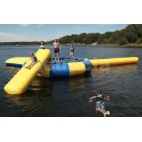 Wholesale Commercial Grade Inflatable Water Trampoline Combo and Blob For Fun from china suppliers