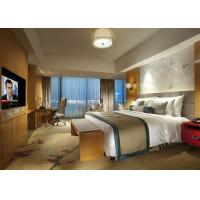 Wholesale Fashion Double Bed Commercial Hotel Bedroom Furniture Shiny Finished from china suppliers