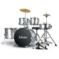 Wholesale Junior PVC Five Piece Drum Set Acoustic Drum Kits Percussion Kit A565P-902 from china suppliers