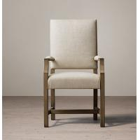 Wholesale High back fabric dining chairs , Oak / Birch / Rubber armchair dining chairs  from china suppliers