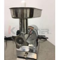 Wholesale Beef  Electric Meat Grinder With Sausage Stuffer Foot Pedal Control 3 Grinding Plates from china suppliers