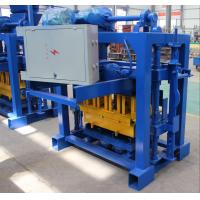 Wholesale Brick Making Machine Small Cement Manual Hollow Block Making Machine With Mixer 4-40 from china suppliers