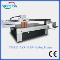Buy cheap Flatbed glass uv printer with 3D effect,for wood,ceramic,metal,leather printer from wholesalers