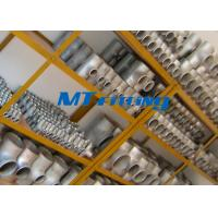 Wholesale ASTM A815 S32750 / SAF 2507 Flanges Pipe Fittings , Duplex Steel Equal Tee Pipe Fitting For Connection from china suppliers