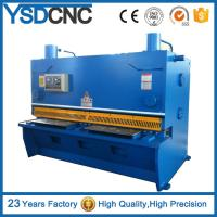 Buy cheap QC11K guillotine NC metal sheet cutting machine manufacturer shearer supply hydraulic steel plate shearing machine from wholesalers