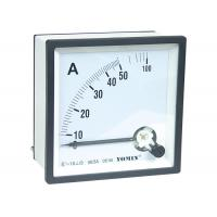 Wholesale Mini Size Electrical AC Measuring Analogue Panel Meters Ammeter 96 * 96 5 - 100A Class 1.5 from china suppliers
