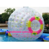 Wholesale Clear Water Aqua Inflatable Zorb Ball , Inflatable Hamster Ball For People from china suppliers