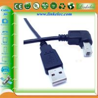Wholesale braided usb cable 90 degree angle direction USB from china suppliers