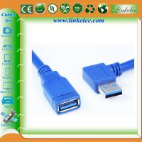 Wholesale 1m Black SuperSpeed USB 3.0 Cable - Right Angle A to A - M/M from china suppliers
