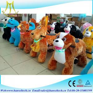 Wholesale Hansel kids riding train amusement park kid toy rides kidde rides game center  rides motorized plush riding animals from china suppliers