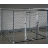 Wholesale Hot Sale 7.5'x13'x6'galvanized chain link large outside dog kennels china supplier from china suppliers