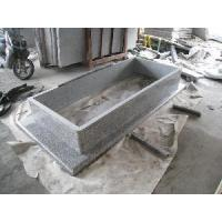Wholesale G623 Rosat Beta Grey Granite Tombstone/ Monument/ Monuments (GM007) from china suppliers