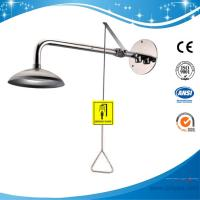 Buy cheap SH358D-Wall mounted emergency shower MADE OF SS304 material safety shower for washing the body meets ansi z358.1 from wholesalers