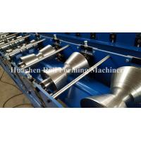 Wholesale Plc Control 50hz Ridge Cap Sheet Metal Roll Former Machine With High Speed from china suppliers