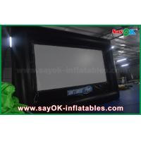 Wholesale 6 X 3.5m Pvc / Oxford Cloth Protable  Film Inflatable Movie Screen for Rental from china suppliers