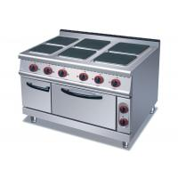 Wholesale 4 Or 6 Plates Electric Range Cookers Round / Square Freestanding Electric Cooker from china suppliers