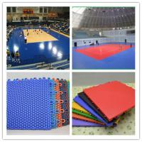 Wholesale Eco Friendly Outdoor Volleyball Court Flooring , Portable Sport Court Flooring from china suppliers
