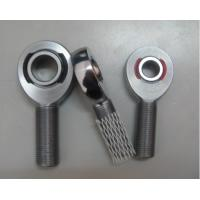 Wholesale Heart Treated Ball bearing rod ends , Chromoly Steel Male threaded rod end from china suppliers
