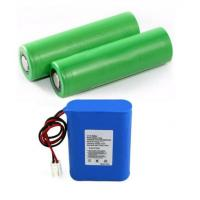 Quality High Drain 18650 Li Ion Battery 1S1P For Shaver / Track Device , 18*65mm for sale