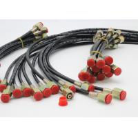 Wholesale M14*1.5 High Pressure Test Hose 4MM*12MM Wires Reinforced , 1m / 0.5m Length from china suppliers