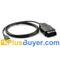 Wholesale USB VAG-COM to 16 pin OBD2 Car Diagnostic 409 Cable from china suppliers