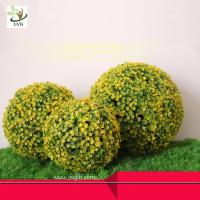 Wholesale UVG Living wedding decoration materials plastic fake boxwood balls for indoor landscaping from china suppliers