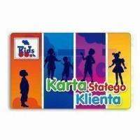Buy cheap Magnetic Card with Double-sided Offset Printing, Made of PVC Material from wholesalers
