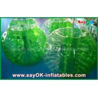 Wholesale Green TPU Material Inflatable Sports Games Human Bubble Football Soccer Ball from china suppliers