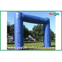 Wholesale Blue Huge Inflatable Archway Oxford Fabric Commercial Inflatable Structure from china suppliers