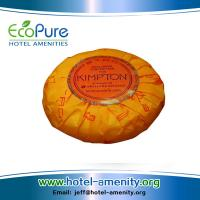 Wholesale Round pleat wrapped hotel soap , guest soap ,hotem amenities soap from china suppliers