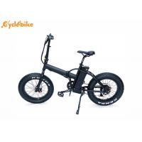 Wholesale 35~40Km/h 8FUN 20'48V500W rear motor electric folding bike with 48V10AH lithium battery from china suppliers