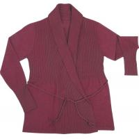 Wholesale lady cardigan sweater garment from china suppliers