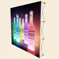 China 3 X 3 Pop Up Banner Stands With Plastic Buckle Connector Free Carrying Bag on sale