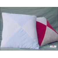 Wholesale White and Red Plain Custom Decorative Throw Pillow for Bed and Couch from china suppliers