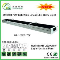3 Feet Hanging Hydroponic Led Grow Light For Growing Plants 70 Watt Power