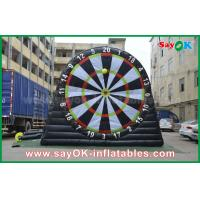 Wholesale 5m DIA Inflatable Sports Games PVC Velcro Soccer Football Dart Board Stands from china suppliers