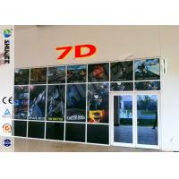 Wholesale Luxurious Decoration 7d Simulator Cinema With HD Projectors Professional Audio from china suppliers
