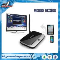 Wholesale MK888 RK3188 Andriod 4.2.2 Quad Core smart tv box from china suppliers