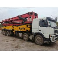 Buy cheap China cheap used Sany 56m concrete pup truck for sale from wholesalers