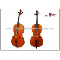 Wholesale Professional Musical Instrument Cello High Grade Handmade Flamed Oil Varinsh ebony parts Cello from china suppliers