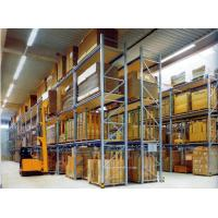 Wholesale Supermarket spraying paint steel pallet racks with Forklift works , 800KG from china suppliers