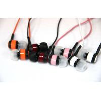 Wholesale Custom Printed In Ear Stereo Earbuds for Running , 3.5 mm Plug from china suppliers