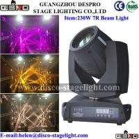 Wholesale 8/16 Prisms 230W 7R Moving Head Beam Light With Zoom from china suppliers