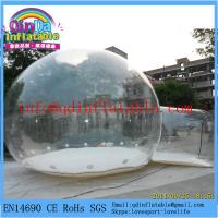 Wholesale Transparent inflatable tent inflatable bubble tent inflatable camping tent from china suppliers