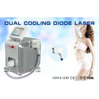 Wholesale Permanent 808nm Diode Laser Hair Removal Machine / Cooling YAG Laser Hair Removal from china suppliers