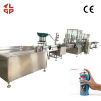 Wholesale Tyre Repair Spray Automatic Aerosol Filling Machine , Aerosol Paint Filling Machine from china suppliers