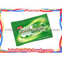 Wholesale Sugar Free Fresh Breath Mints , Green Colored Candy Xylitol Sweetener For Aluminum Bag from china suppliers