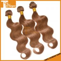 Wholesale Grade 5A Color#8 Indian Hair Weave Blonde And Brown Body Wave Blonde Virgin Hair Blonde Ha from china suppliers
